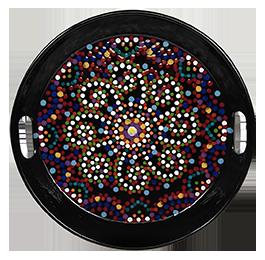 Sioux Falls Mosaic Mandala Tray