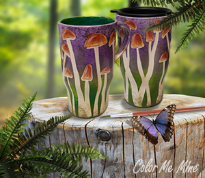 Sioux Falls Mushroom Mugs